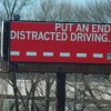 Billboards Deliver Anti-Texting Safety Message
