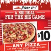 Pizza Hut to Sell 2 Million on Football's Biggest Day