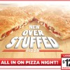Pizza Hut Offers Discount on Overstuffed Pizzas