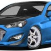 Hyundai Creates Genesis Coupe for SEMA Show