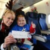 "United Flies Children to the ""North Pole"""