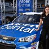 Danica Patrick Bets on Blue for NASCAR Race
