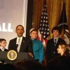 President Obama Praises SciTech Kids at White House
