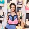Victoria's Secret Supermodel Alessandra Ambrosio's Sport Bra