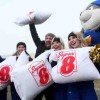 Guinness World Record for Largest Pillow Fight