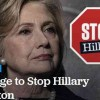GOP's Pledge to Stop Hillary Clinton