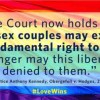 #LoveWins: Gay and Lesbian Couples Can Marry