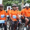 Cycling to Work Event Held in Bangalore