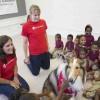Hurricane Katrina: Prep Rallies for Children