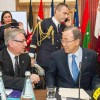 Ban Calls for Action on Climate Change in Malta