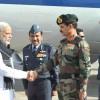 Narendra Modi Visits Terrorist Attack Site in Pathankot