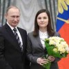 Vladimir Putin Presents Presidential Prize to Young Scientists