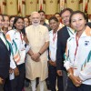 Indian Athletes Get Ready for the Olympics Picnic