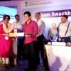 Sachin Tendulkar Interacts with Swachh Bharat Champions