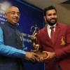 Rohit Sharma and Ajinkya Rahane Receive Arjuna Award