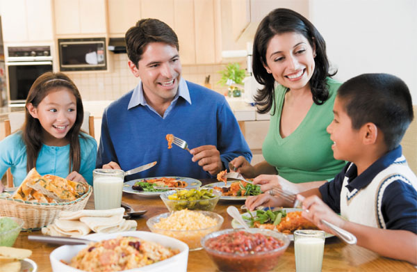 How Family Meals are Good for Your Child
