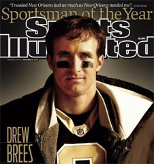 Drew Brees Named Sportsman of the Year