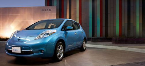 Nissan LEAF Application for Smartphones