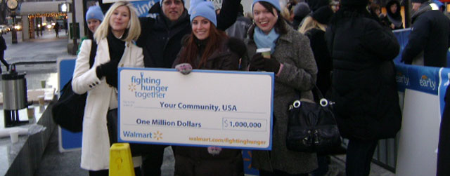 Fighting Hunger Together with Walmart