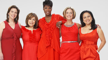 Go Red for Women with Love for Their Heart