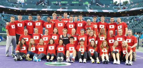 Tennis Stars Raise Funds for Japan Disaster Relief