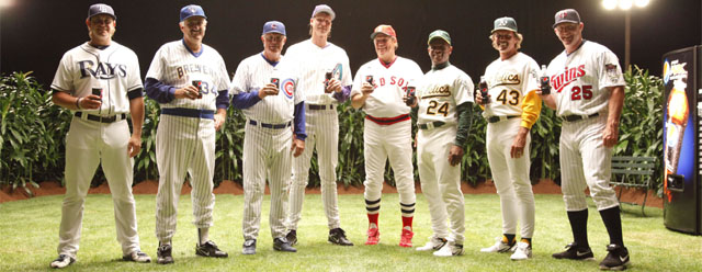 Pepsi Brings Stars in Field of Dreams