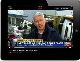 CNN to Stream News Network Online, On Mobile