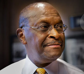 Herman Cain at Top among Republicans: Poll