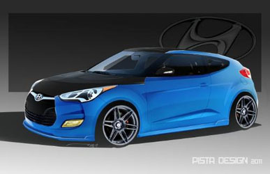 Hyundai to Show off Veloster at SEMA Show