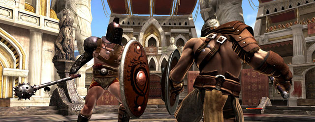 Battle in Glu Mobile's Gladiator Arena