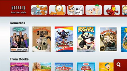Netflix Fun Shows on Wii Just for Kids