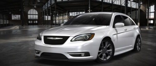 Chrysler 200 Sedan Modified with Mopar Parts