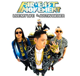 Justin Bieber Goes with FM for Live My Life