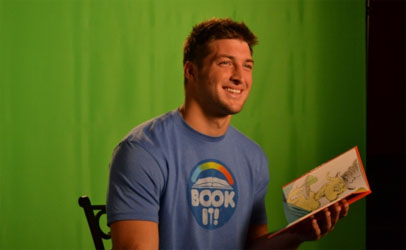 Tim Tebow to Read Green Eggs and Ham