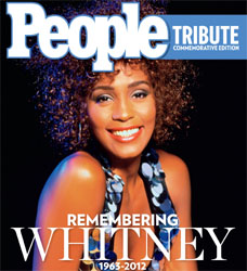 People's Commemorative Book on Whitney Houston