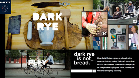 Tasting Life with Online Magazine Dark Rye