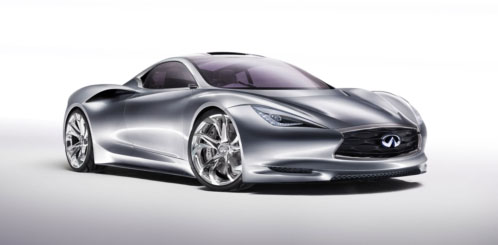 Infiniti Showing Emerg-E Sports Car Concept
