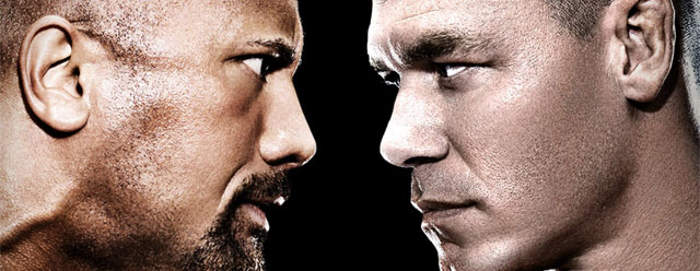 Once in a Lifetime – Rock vs. Cena