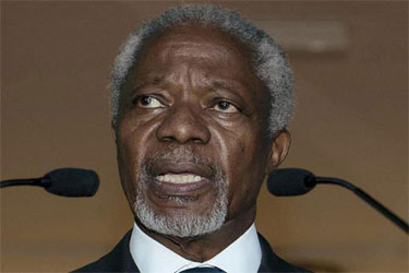 Syria Accepts Kofi Annan's Peace Plan