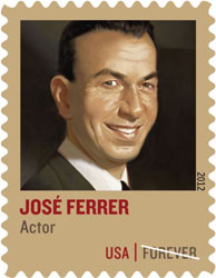 Hispanic Talent Jose Ferrer Honored on Forever Stamp
