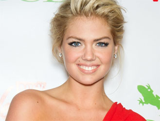 Supermodel Kate Upton Goes with Axe Shower