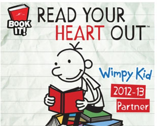 BOOK IT! With Diary of a Wimpy Kid