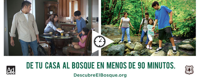 Campaign for Hispanic Families to Discover Nature