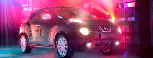 Nissan and Ministry of Sound Create Juke Box