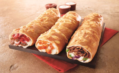 Pizza Hut's New Sandwich Concept, The P'Zolo