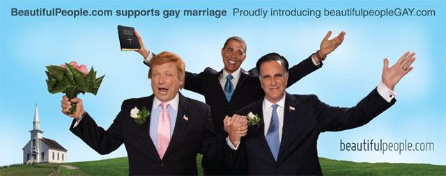 Barack Obama Gay Marriage Billboards Censored!