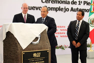 Nissan's New Automotive Complex in Mexico
