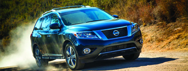 Nissan Rolls Out Reinvented Pathfinder