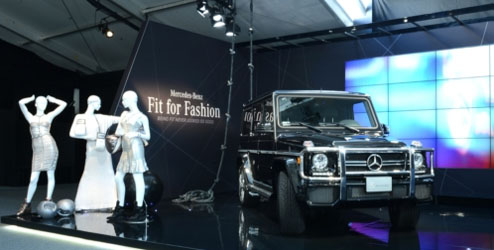 G-Class at Mercedes-Benz Fashion Week