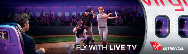 Virgin America Campaign with Frequent Travelers
